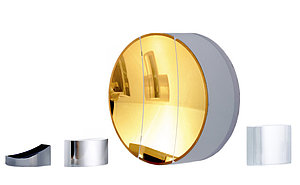 Metallic mirrors with a constant level of reflection - Optical coating from asphericon