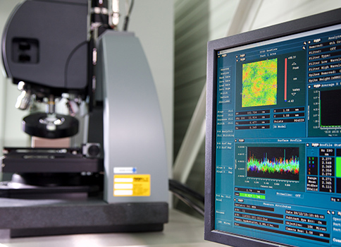 High-quality optics for non-contact measurement