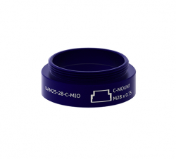 C-Mount male (UAM25-28-C-MIO)